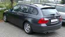 Seitenaufnahme eines BMW