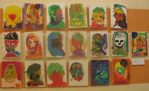 Von Warhol inspirierte Gemälde